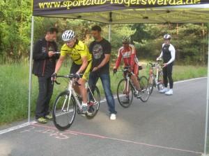 Start zum Einzelzeitfahren 2013